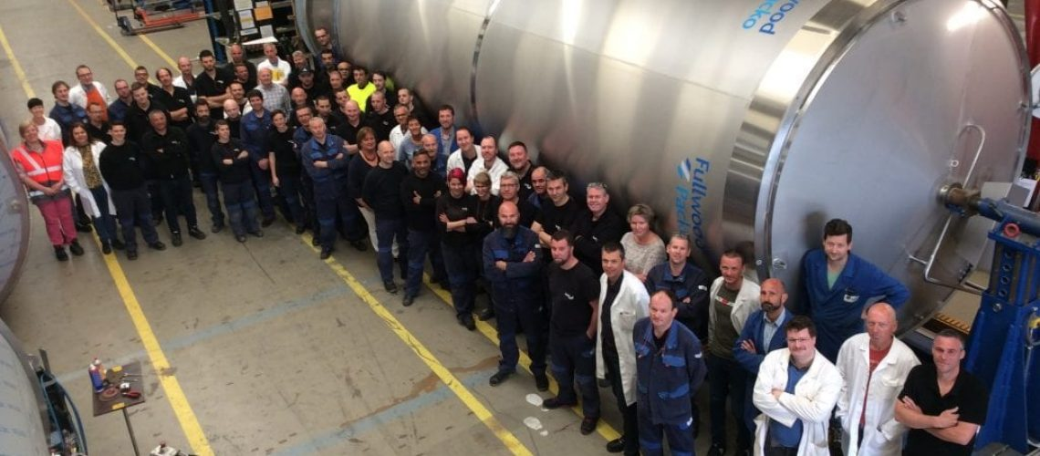 Fullwood Packo produce its largest ever silo tank